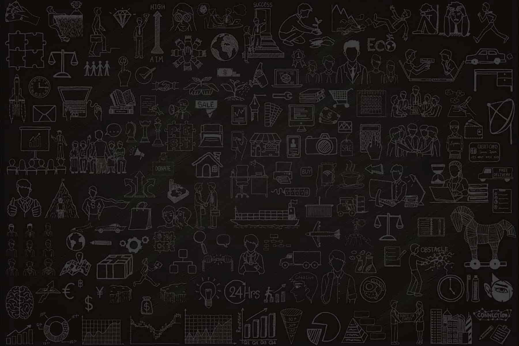 Black Multiple Icon Board